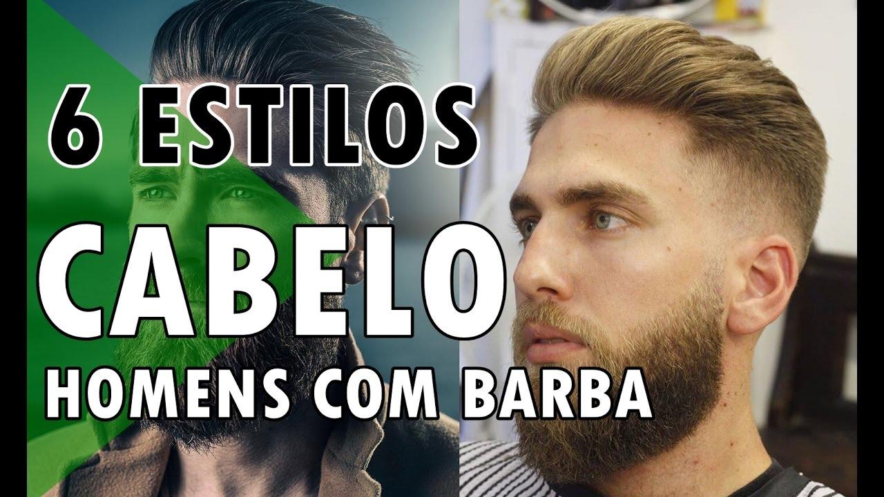 6 cortes de cabelo masculino para quem tem barba haircut