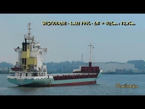 WESTVOORNE V2BZ4 IMO 9142667 Emden cargo seaship coaster merchant vessel KüMo Seeschiff