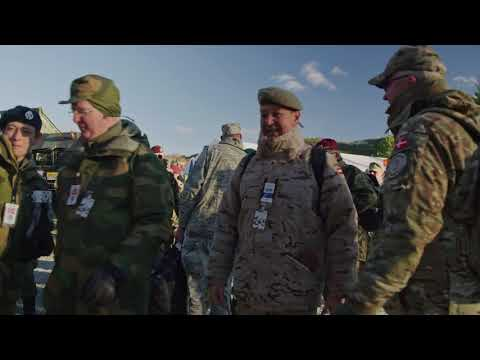 DFN:TRIDENT JUNCTURE 2018 - OSCE observers visit Trident Juncture NORWAY 10.30.2018