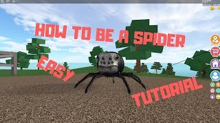 How to Be a Spider in Robloxian Highschool