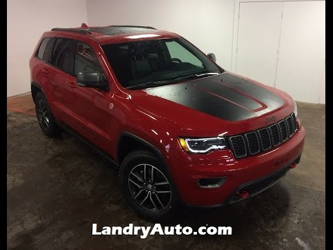 New Edition 2017 Jeep Grand Cherokee Trailhawk Explained
