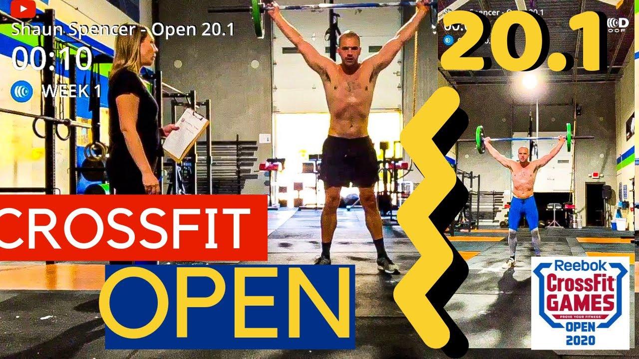 Crossfit Open 20 1 Side By Side Redo Help Crossfit Open Crossfit Side By Side Video