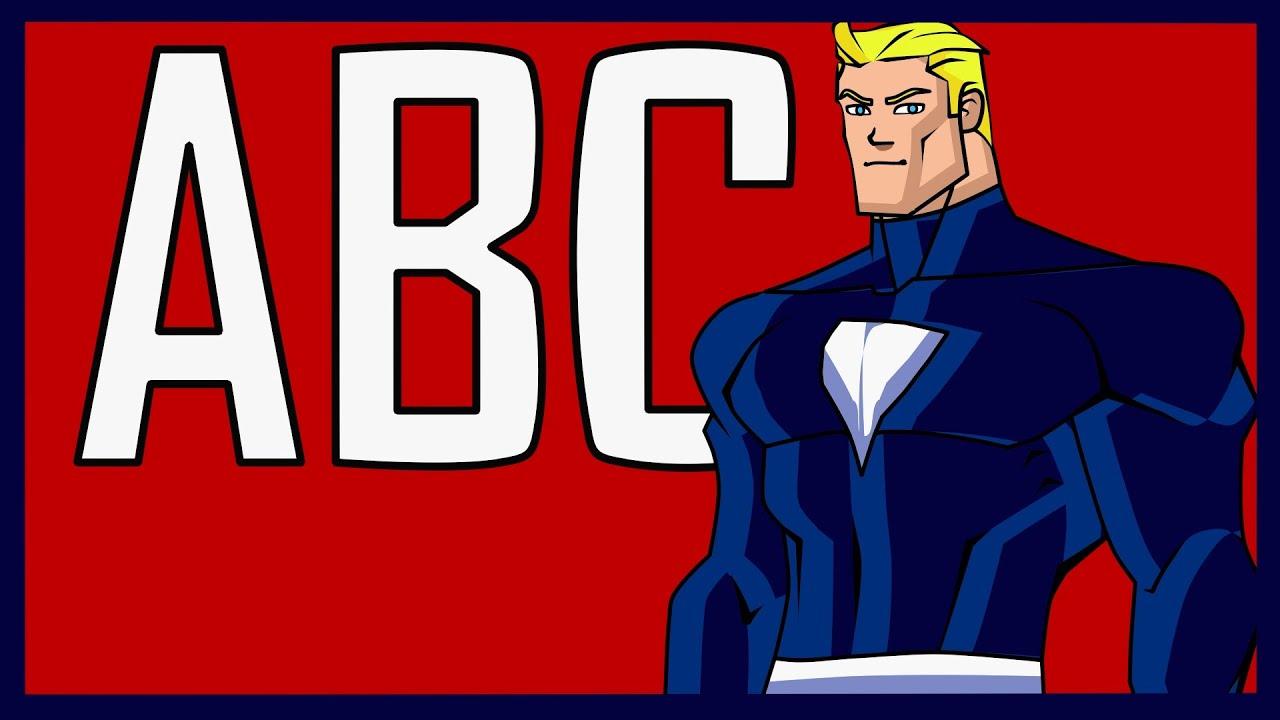 Superhero ABC Alphabet Song - YouTube