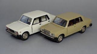 ВАЗ-2105 і ВАЗ-2107 Масштабні моделі на реставрацію 1:43 Агат