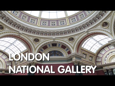 London: The National Gallery & Gift Shop