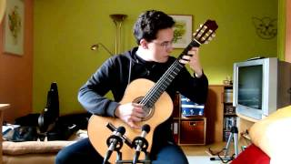 Gavotte I / II from the 6th Cellosuite in D - Major (J.S. Bach) - Classical Guitar