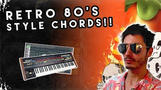 How to Make a Reтro 80s Style Chord Progression!