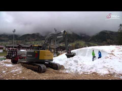 Snowfarming in Ramsau am Dachstein - Loipen im November garantiert