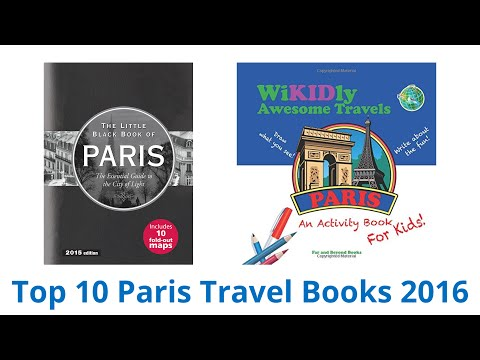 10 Best Paris Travel Books 2016