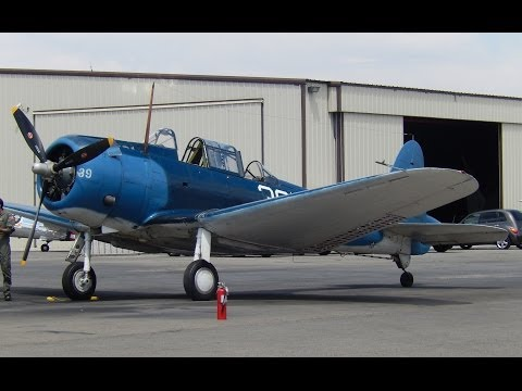 "GoPro Flight in Douglas SBD-5 Dauntless ""Dive Bomber"" NX670AM Planes of Fame, Chino, CA. 2013"