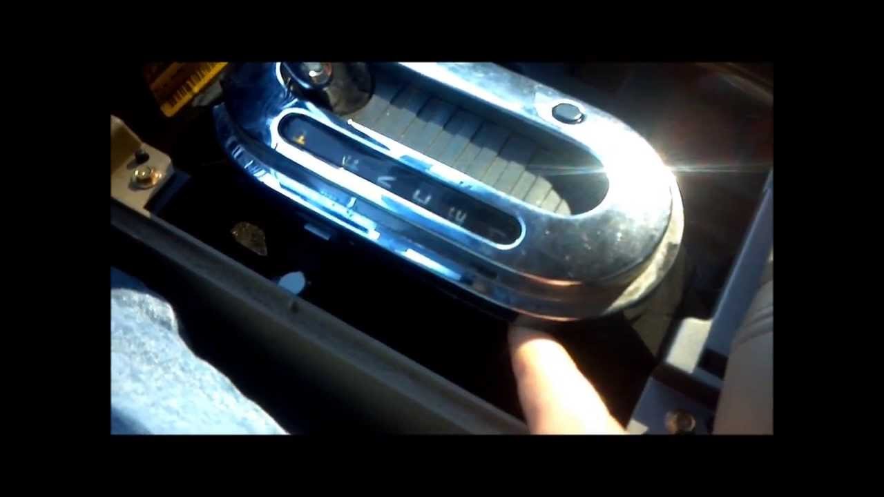 How to change the gear indicator bulb in a 04-08 Ford F ...
