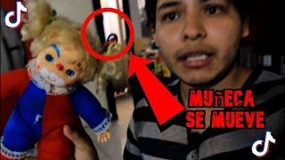 muñeca se mueve en video de tik tok