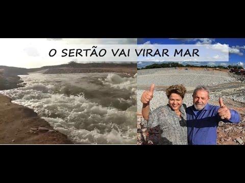O SERTÃO VAI VIRAR MAR: Águas do Velho Chico estão chegando ao Sertão