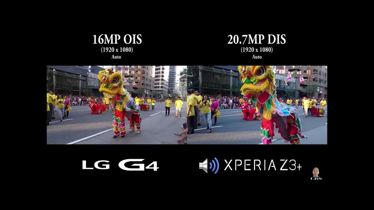 Sony Xperia Z3+/Z3 Plus vs LG G4