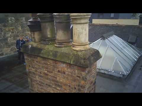 cx-23 chimney and pointing video for altitude height specialists