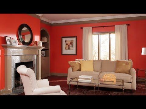 ideas geniales para pintar la sala de estar Cmo Pintar Una Habitacin Con Varios Colores