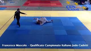 Francesco Mascolo - Qualificato Campionato Italiano Judo Cadetti