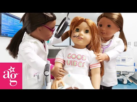 American Girl Doll Hospital Stop Motion | @American Girl
