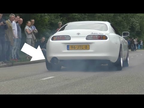 The BEST Toyota SUPRA Engine Sounds 2016!