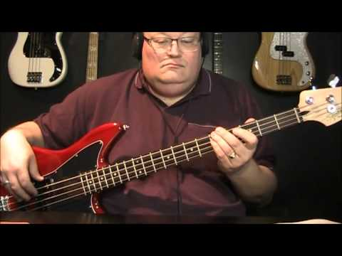 The Traveling Wilburys End Of The Line Bass Cover