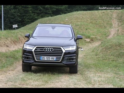 essai audi q7 3 0 v6 tdi 272 ch 2015 en offroad youtube. Black Bedroom Furniture Sets. Home Design Ideas