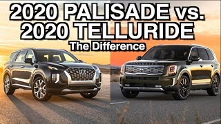The Real Difference: 2020 Palisade vs 2020 Telluride on Everyman Driver