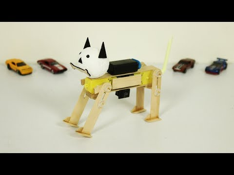 How To Build Amazing Robot DOG At Home - Easy To Make
