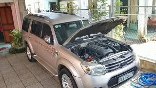 Ford Everest 2013 MT máy dầu màu hồng phấn LH chủ 0909169991