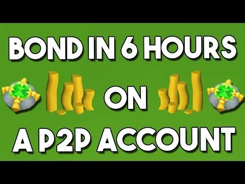 Bond in 6 Hours from Scratch on a P2P Account - Oldschool Runescape Money Making  [OSRS[
