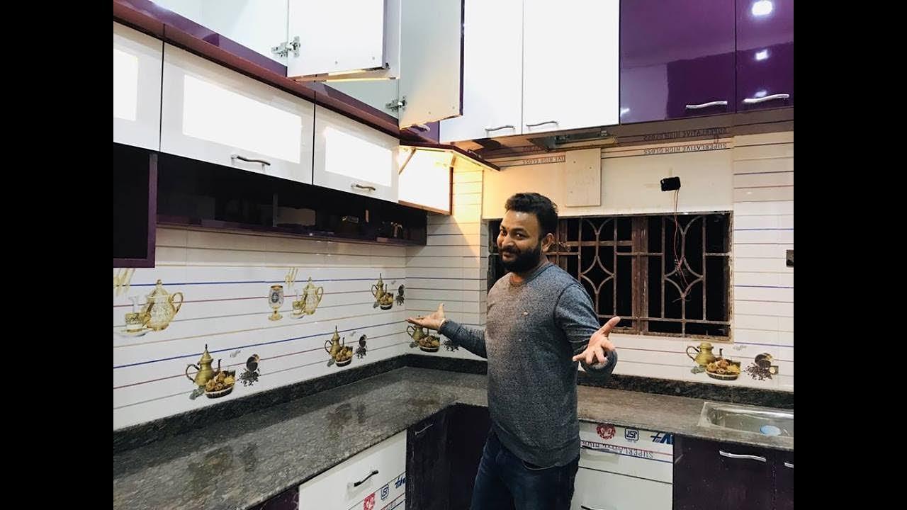 Modular Kitchen Design Details Video In Hindi By Interior Jagat