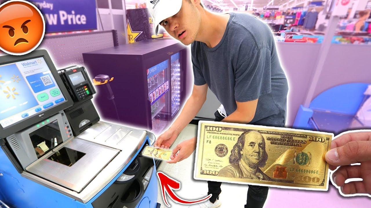 Using Fake Money At Prank It Worked David Vlas