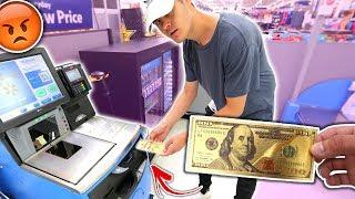 USING FAKE MONEY AT WALMART PRANK! (IT WORKED)