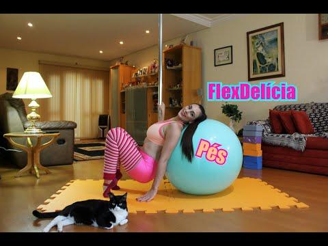 FlexDelícia - Pés de ginastas - Tutoriais de Flexbilidade por Alessandra Rancan