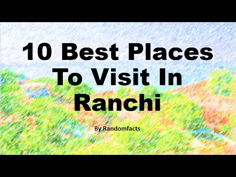 10 Best Places To Visit In Ranchi