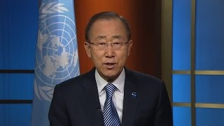 UN Secretary-General Ban Ki-moon's message on entry-into-force of Paris Agreement on Climate Change