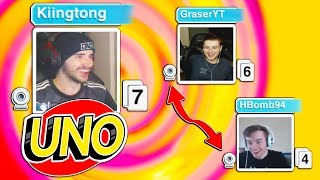 UNO has in-game Facecams?! (UNO Funny Moments)