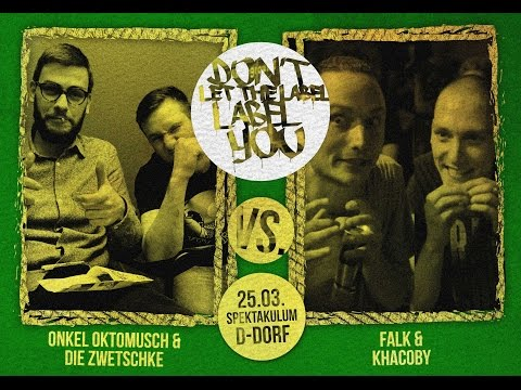 Onkel Oktomusch & Die Zwetschke vs Falk & Khacoby // DLTLLY RapBattle (NRWeekend // Ddorf) // 2017