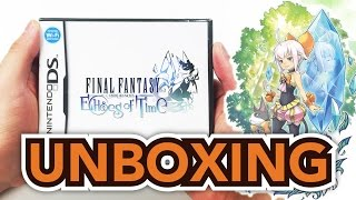 Final Fantasy: Crystal Chronicles: Echoes Of Time (Nintendo DS) Unboxing!!