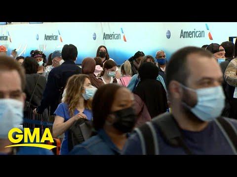TSA struggling to keep up as number of summer travelers increase   GMA