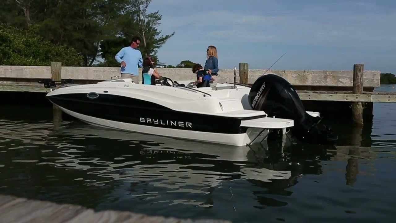 Bayliner 210 Deck Boat Youtube