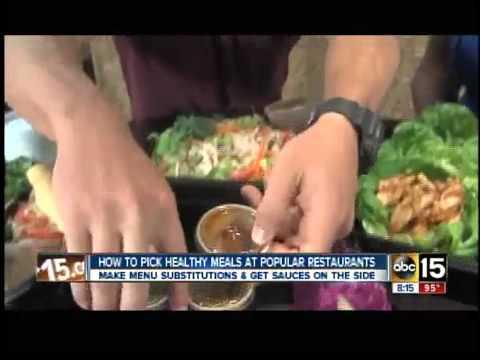 Eating out? Healthy menu picks
