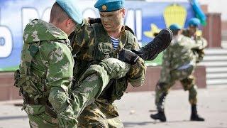 Показательные выступления Десантников. ВДВ.