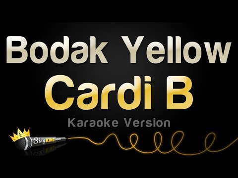 Cardi B – Bodak Yellow (Karaoke Version)