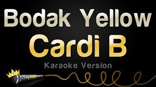 Download Cardi B - Bodak Yellow (Karaoke Version) MP3 song and Music Video
