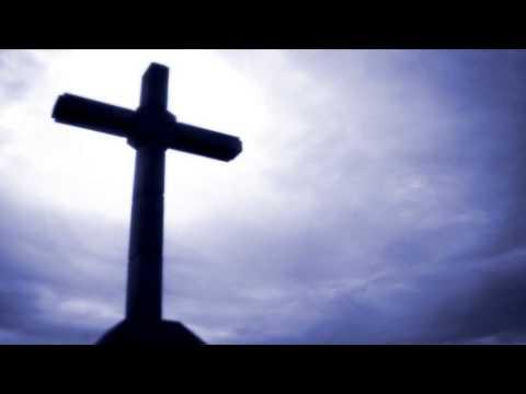 ФУТАЖ Крест на фоне облаков - Footage Cross