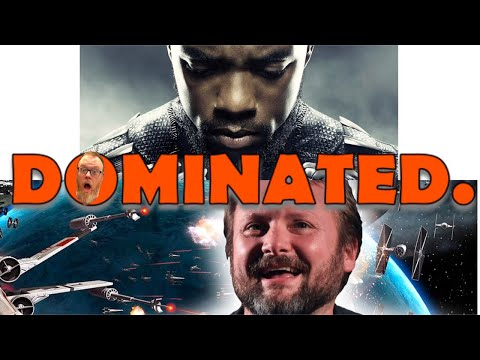 BLACK PANTHER #1 BLU RAY OF 2018,  HUMILIATING RIAN JOHNSON'S STAR WARS THE LAST JEDI! Wendig Cries!