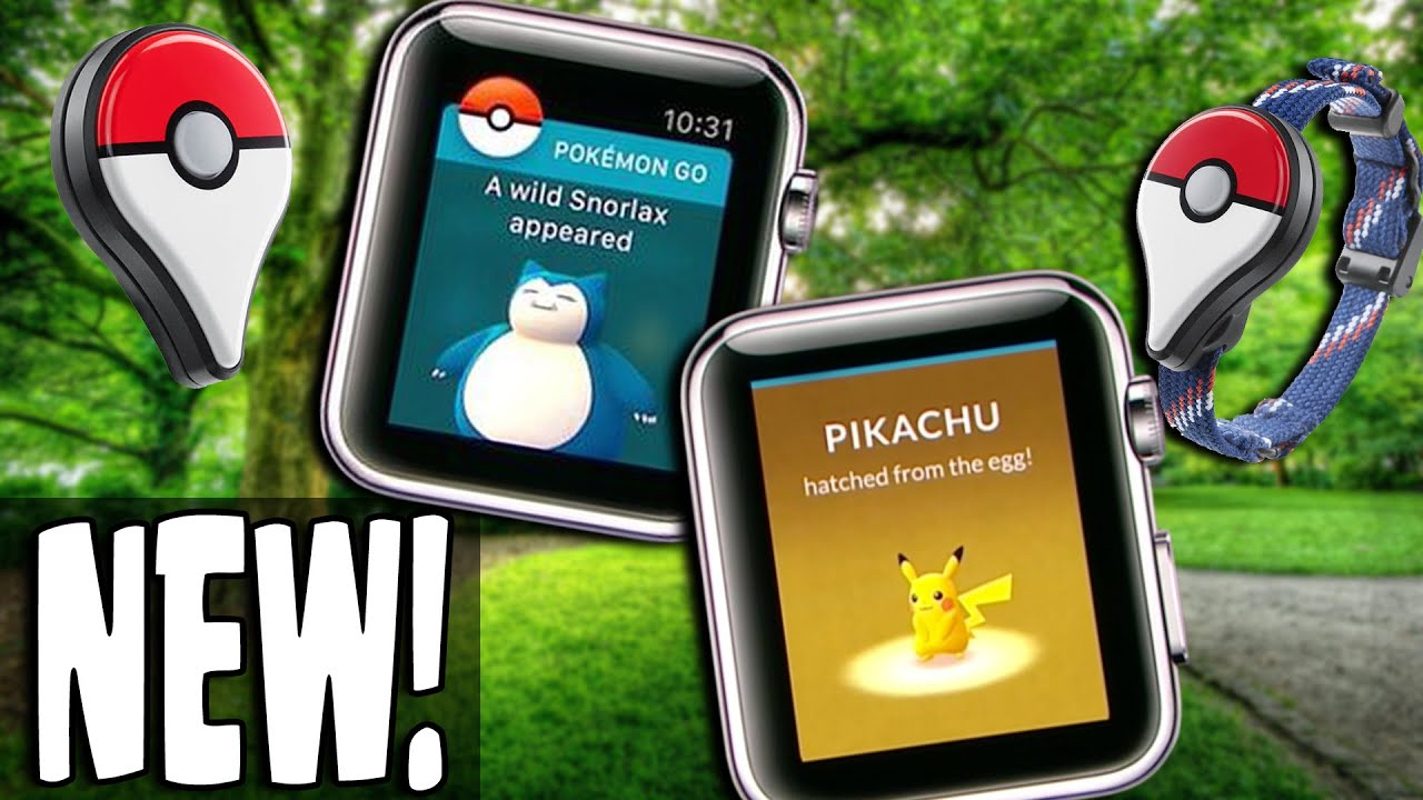 Apple Watch Pokemon
