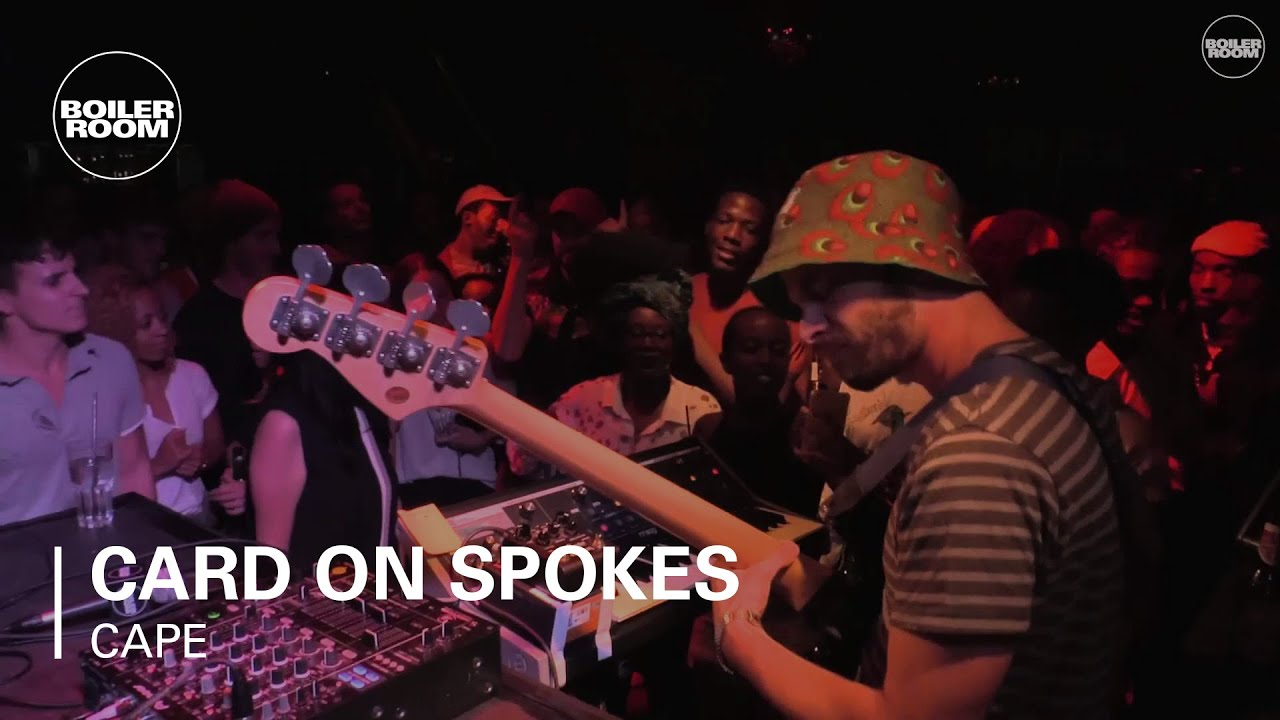 Card On Spokes Boiler Room Cape Town Live Set - YouTube