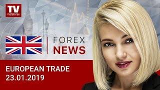 InstaForex tv news: 23.01.2019: Euro keeps on resisting, pound soars (EUR/USD, GBP/USD)