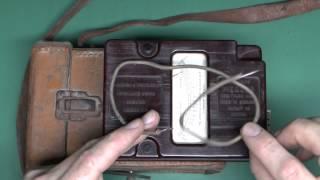 Bakelite Insulation Tester - Hand Cranked Megger
